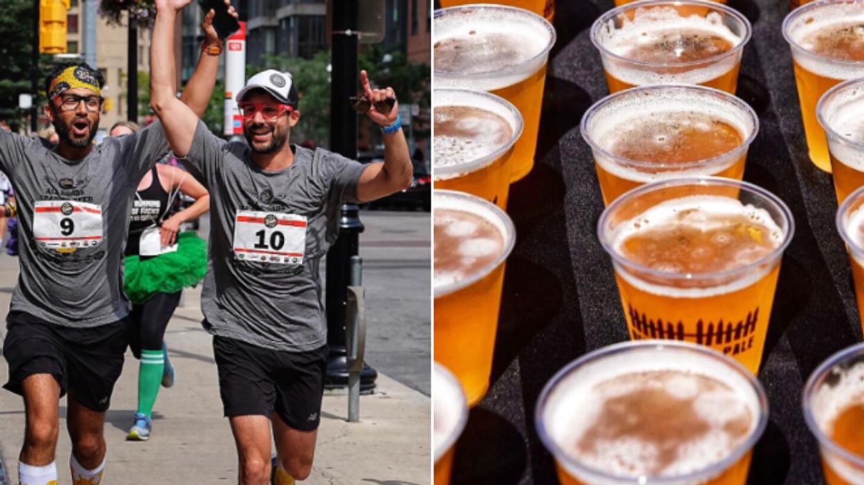 La Montréal Beer Run a lieu cette semaine et ça va définitivement te donner le goût de faire du sport