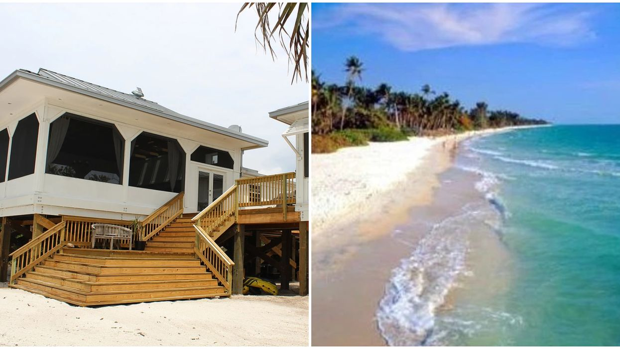 This Gorgeous Island Rental In Florida Has Its Own Stunning Private Beach