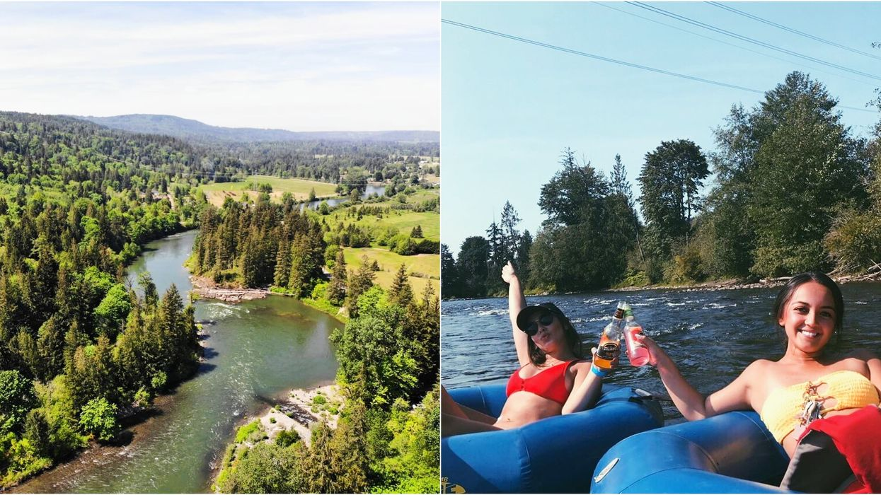 This Secret 6 KM Lazy River Float Near Vancouver Is The Ultimate Way To Chill This Summer