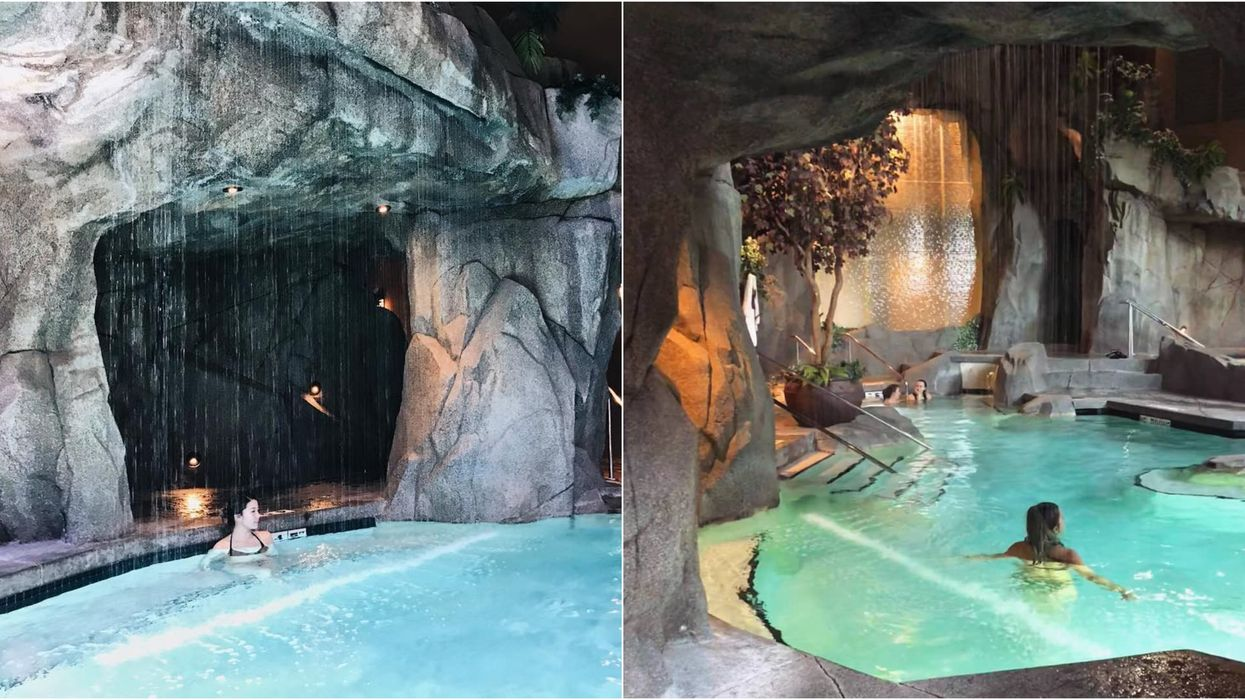 This Hidden Grotto By The Sea Is Canada's Most Magical Spa In BC