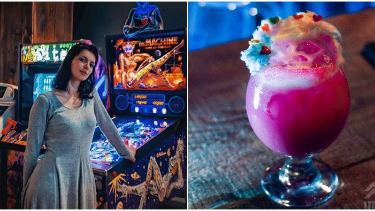 Ce nouveau bar à Montréal te fera définitivement retomber en enfance avec ses arcades et drinks colorés qui goûtent le bonheur