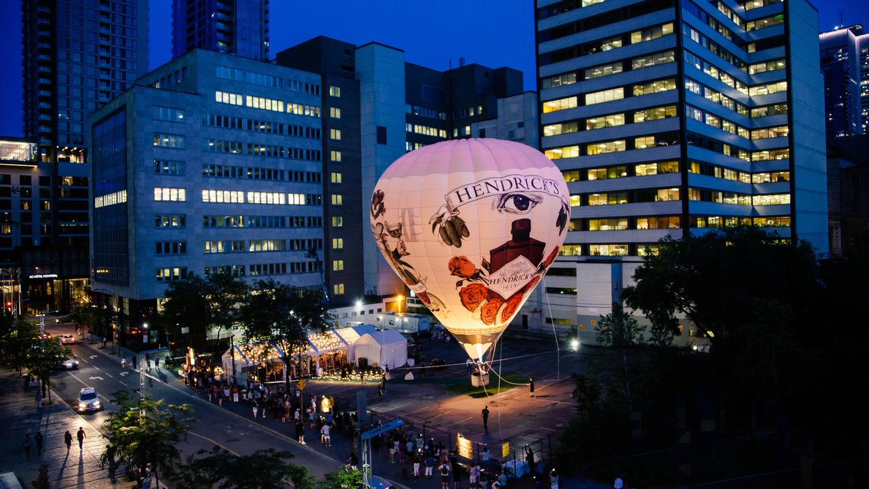 Tu pourrais assister au Festival de Jazz de Montréal du haut d'une montgolfière cet été