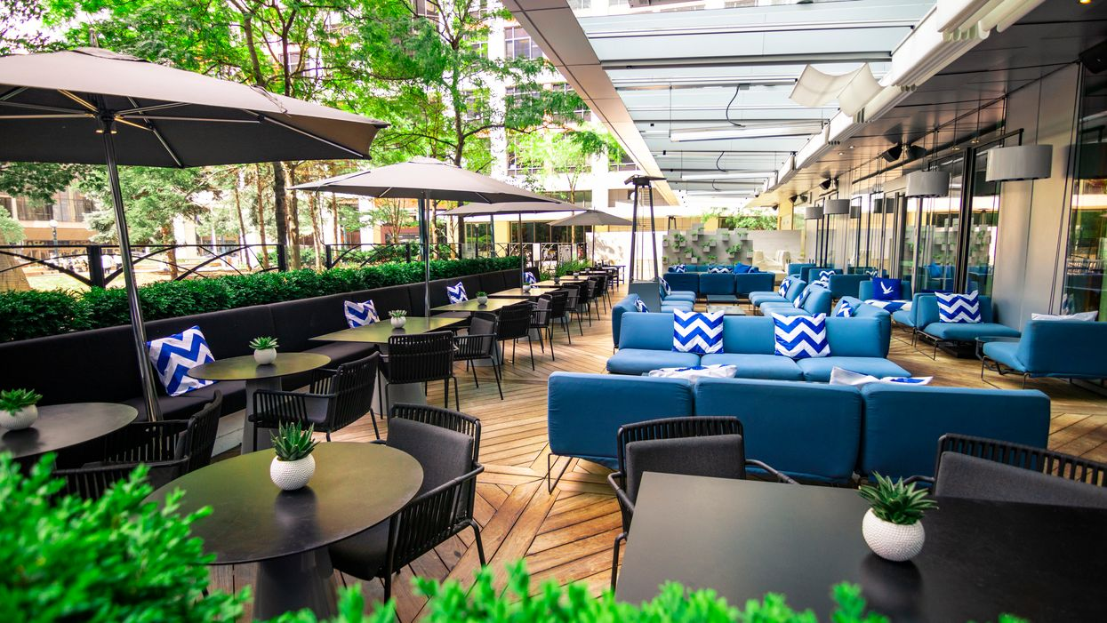 This Cottage-Themed Patio In Toronto Serves An Insane Boozy Brunch