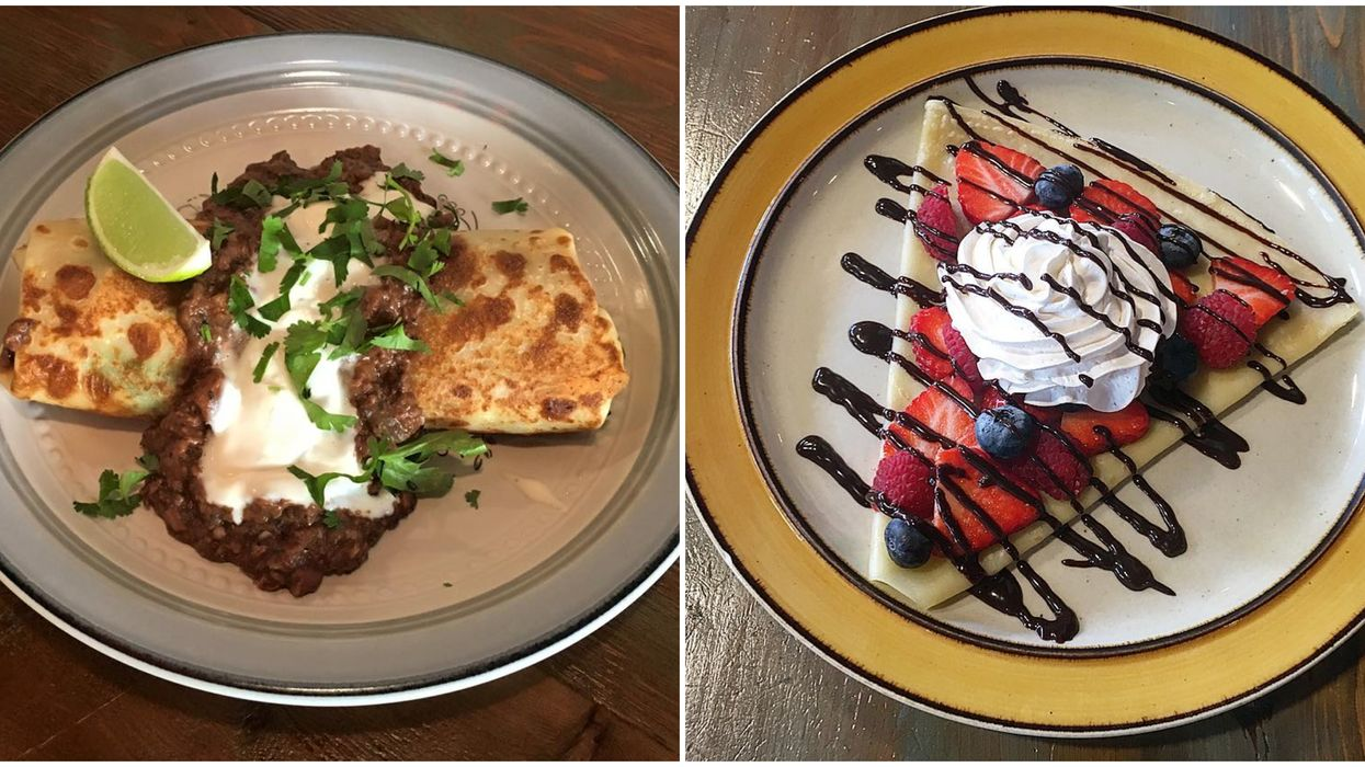 This Cozy New Eatery Near Tampa Serves The Most Delicious Crêpes You Never Knew Existed