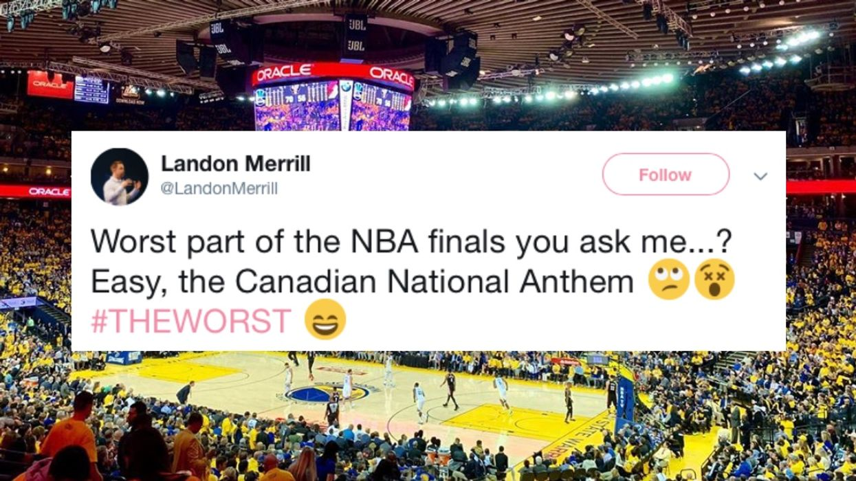 The Internet Is Outraged Over The Canadian Anthem Performance At The Raptors Game Last Night