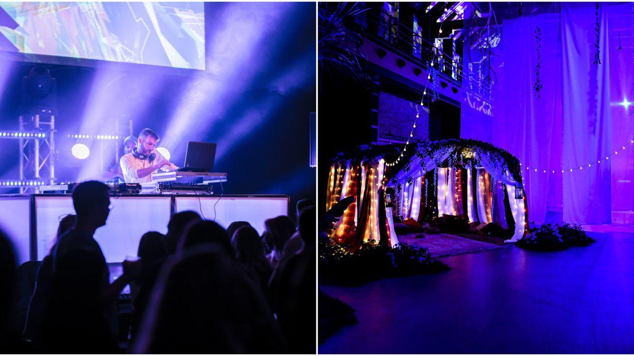 Un gros party de six jours avec DJs, peinture fluo, et folles performances aura lieu cet été à Québec