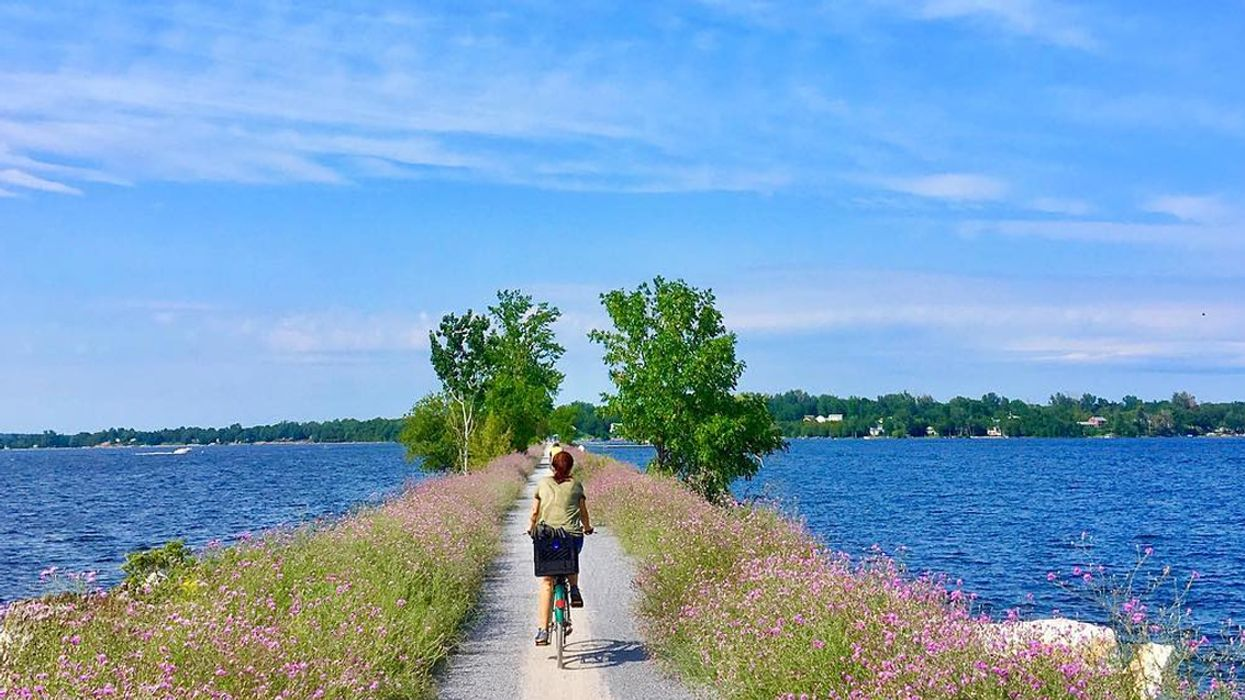 You Can Bike Across This Stunning 4 km Over Water Trail Near Ontario