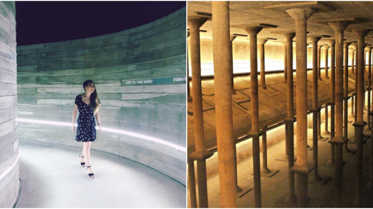 You Can Explore An Abandoned Underground Cistern In Houston
