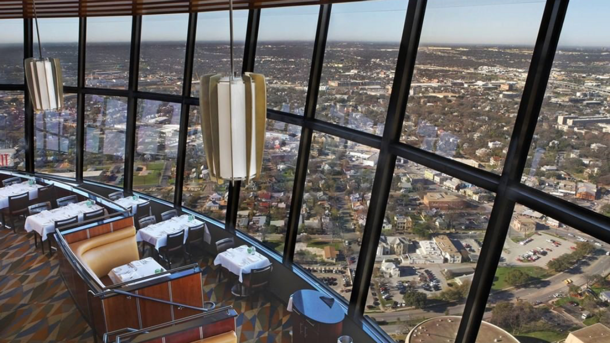 You Can Eat 750 Feet In The Air At This Stunning Central Texas Restaurant