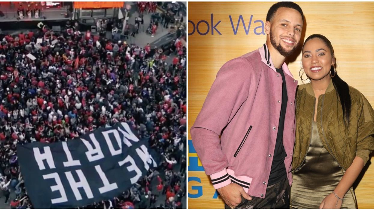 Raptors Fan Gets Arrested For His Comment About Ayesha Curry & Could Face Up To 5 Years In Prison