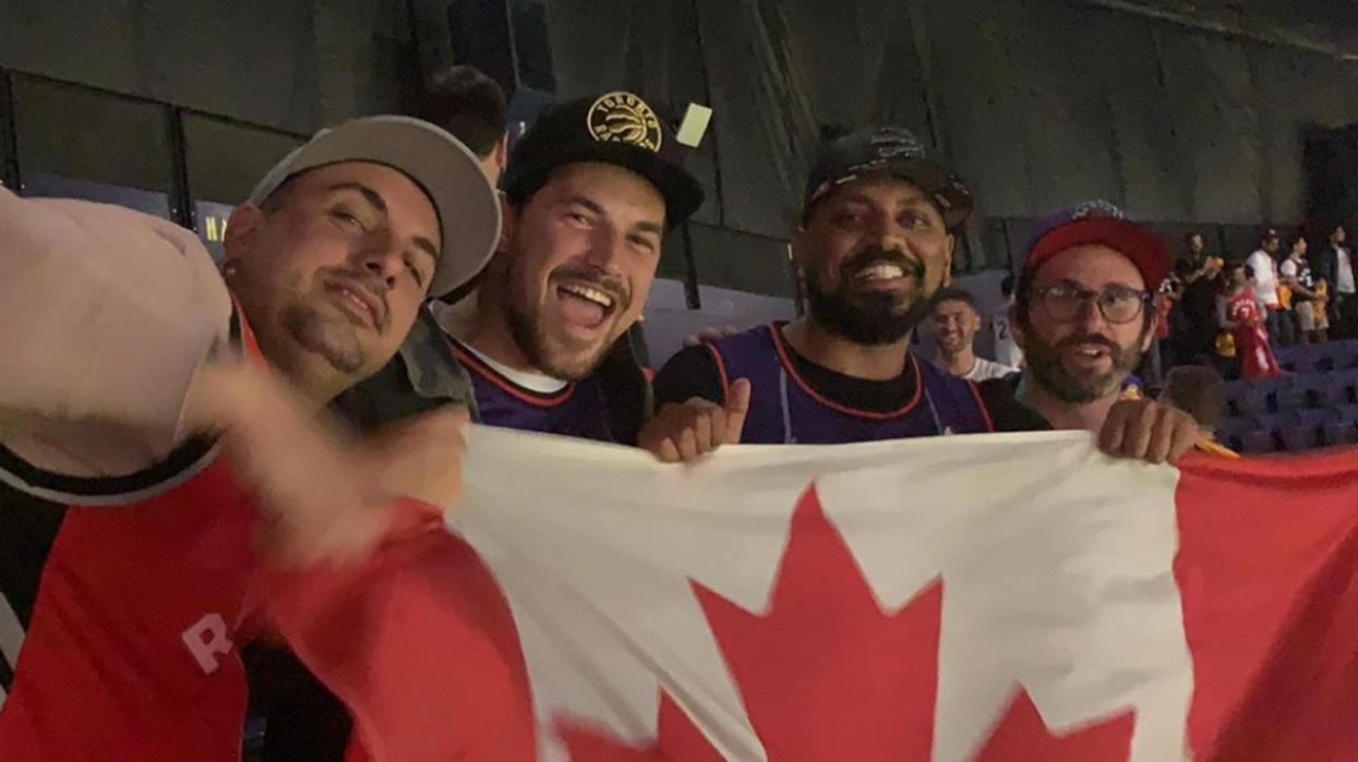 'Grey's Anatomy' Star Giacomo Gianniotti Was Seen Drinking Canadian Beer Before Last Nights Raptors Game