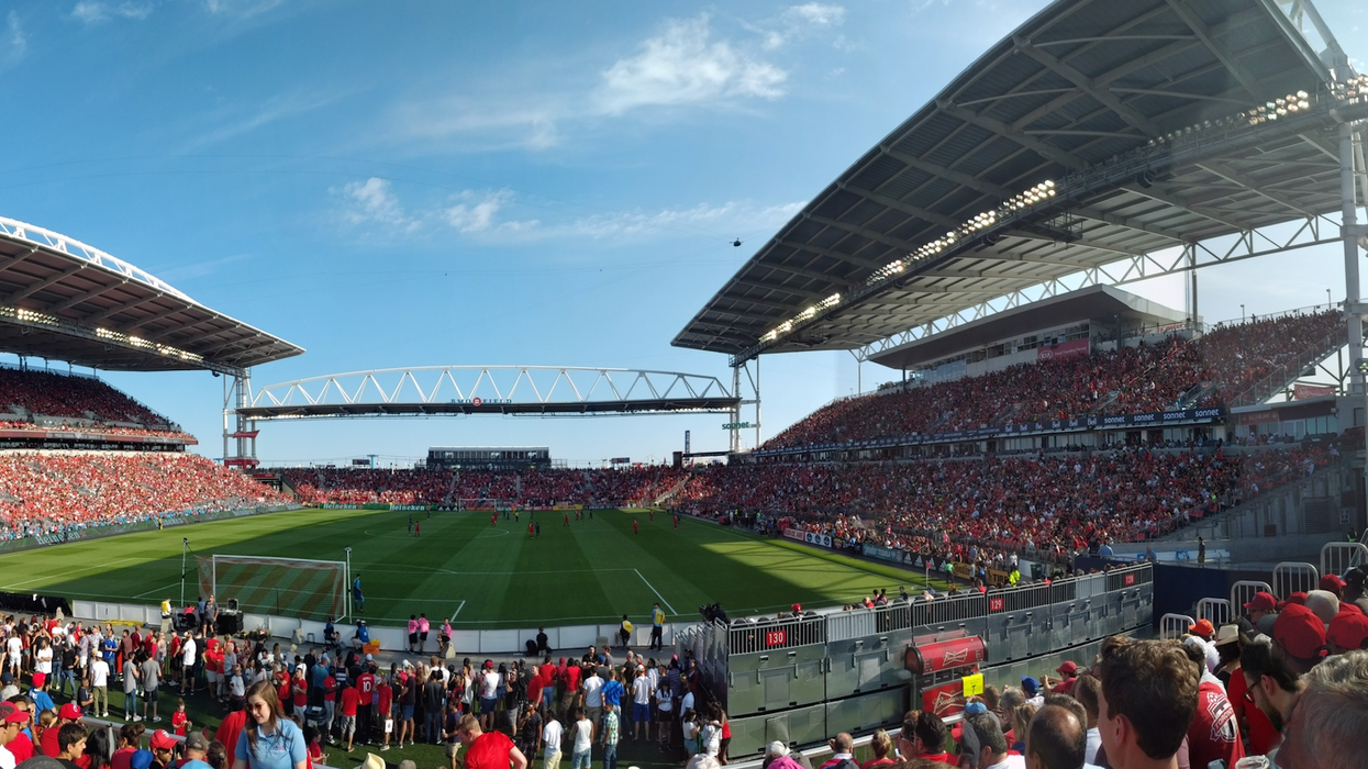 Toronto's BMO Field Is Hosting A Massive Raptors Viewing Party Tonight After The TFC Game