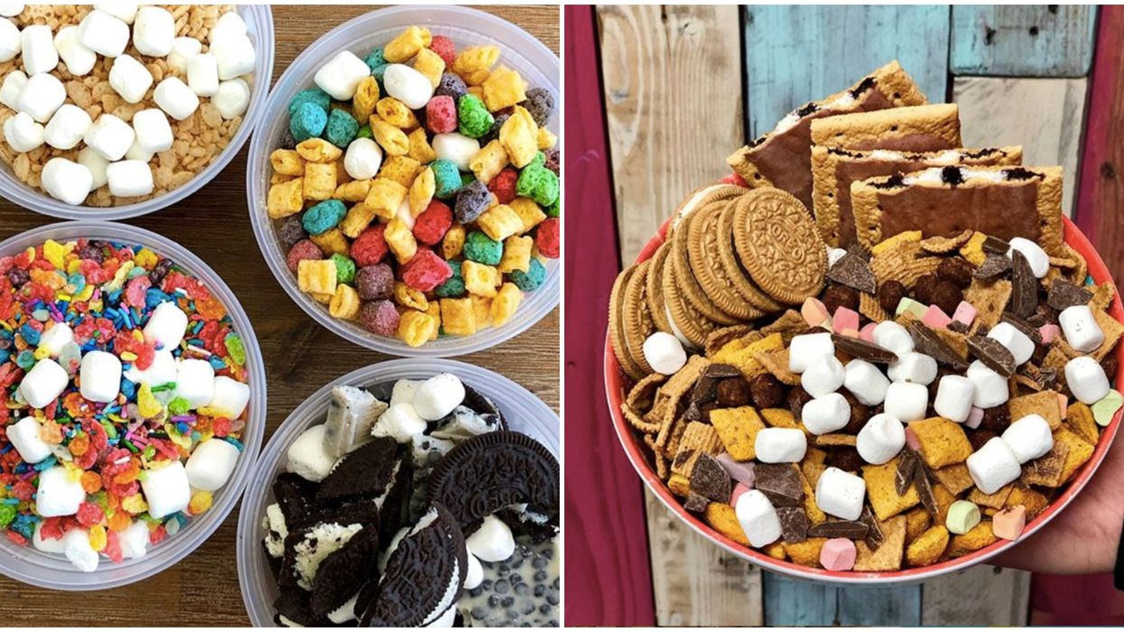 San Antonio Is Getting The Most Chocolatey Build-Your-Own Cereal Bar This August