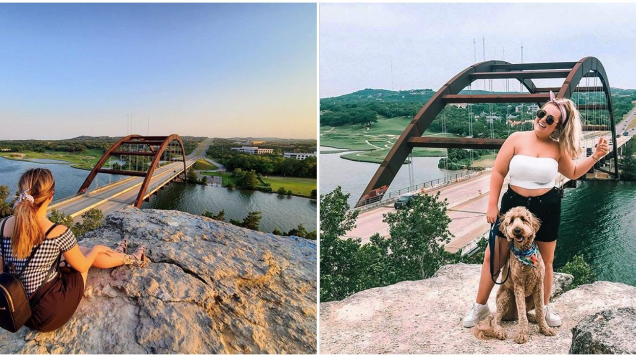 You Can Enjoy The Most Stunning Views In Austin On This Wondrous Overlook