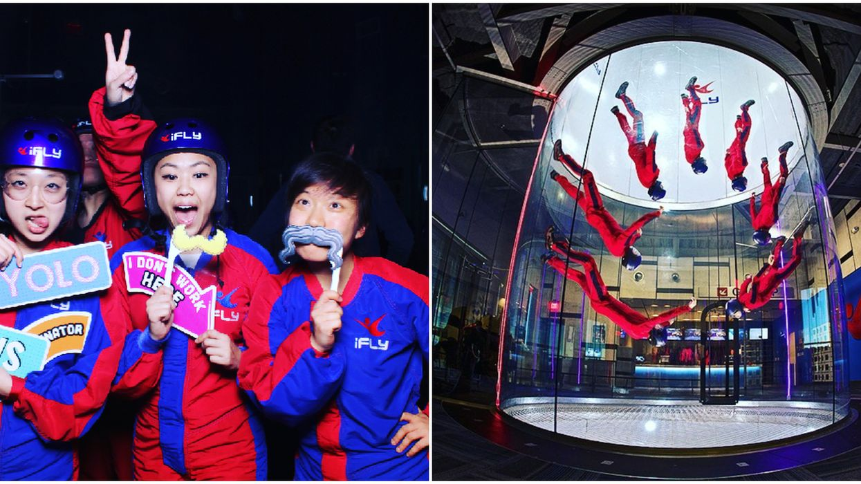 You Can Go Skydiving Indoors At This Awesome Park Near Dallas
