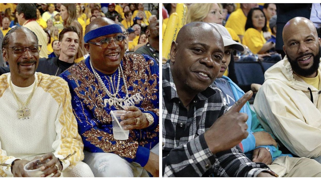All These Celebrities Came Out To See The Raptors Win Game 4 Of The Finals Tonight (PHOTOS)