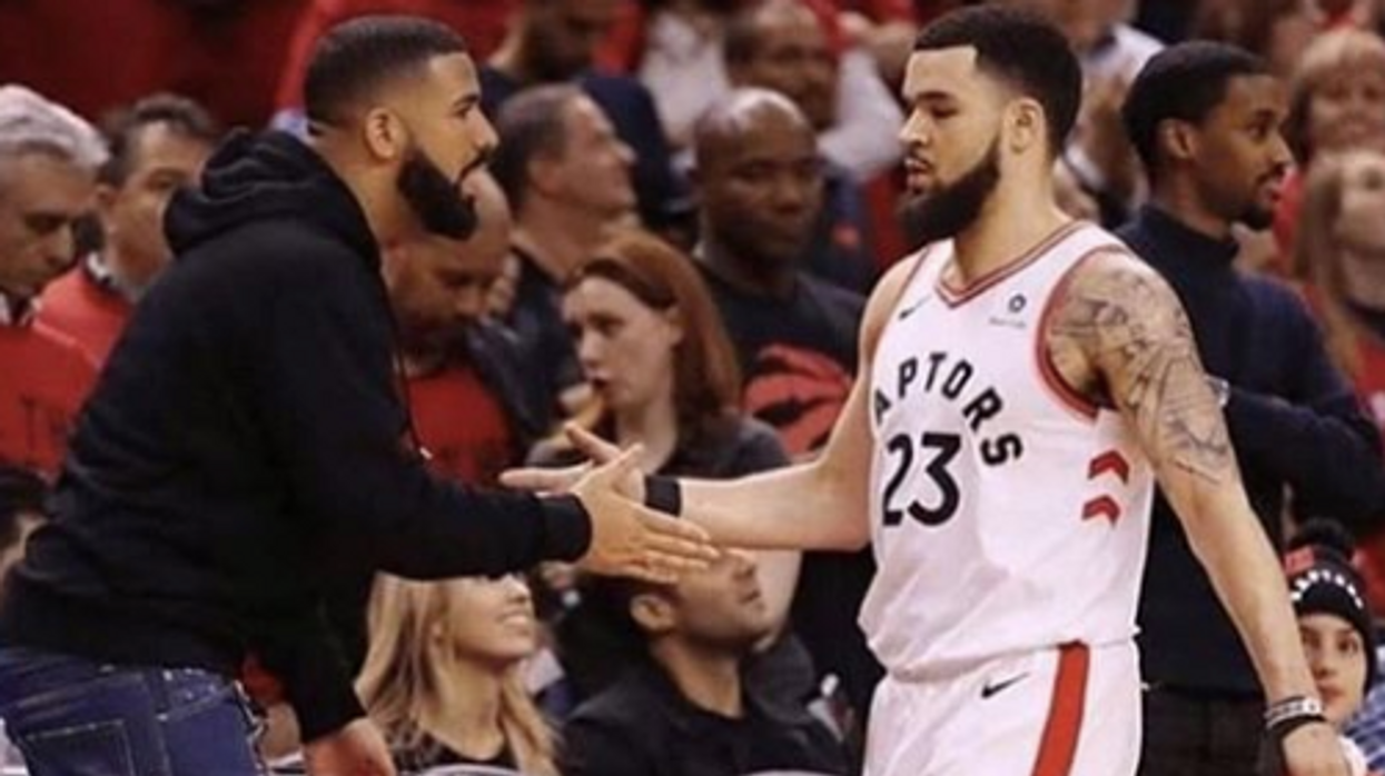 Drake Just Offered To Cover Fred VanVleet's Medical Bills After Last Night's Nasty Faceshot