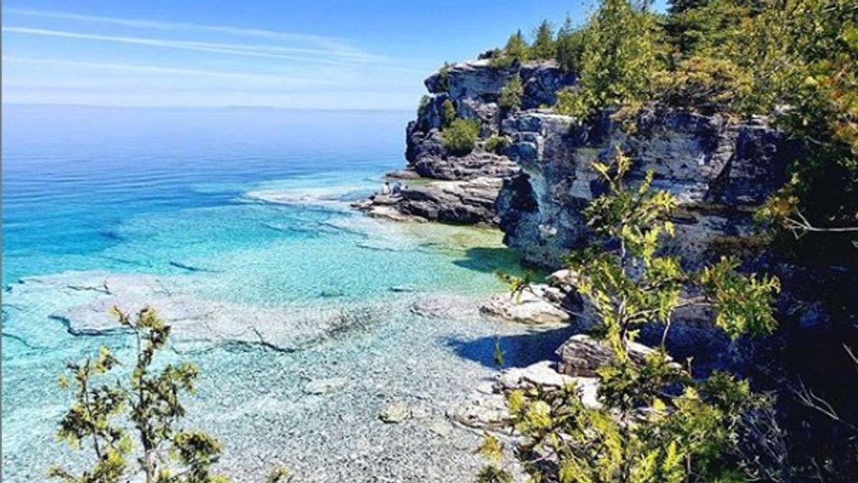 Cette magnifique péninsule en Ontario te donnera l'impression d'être en vacances aux Caraïbes