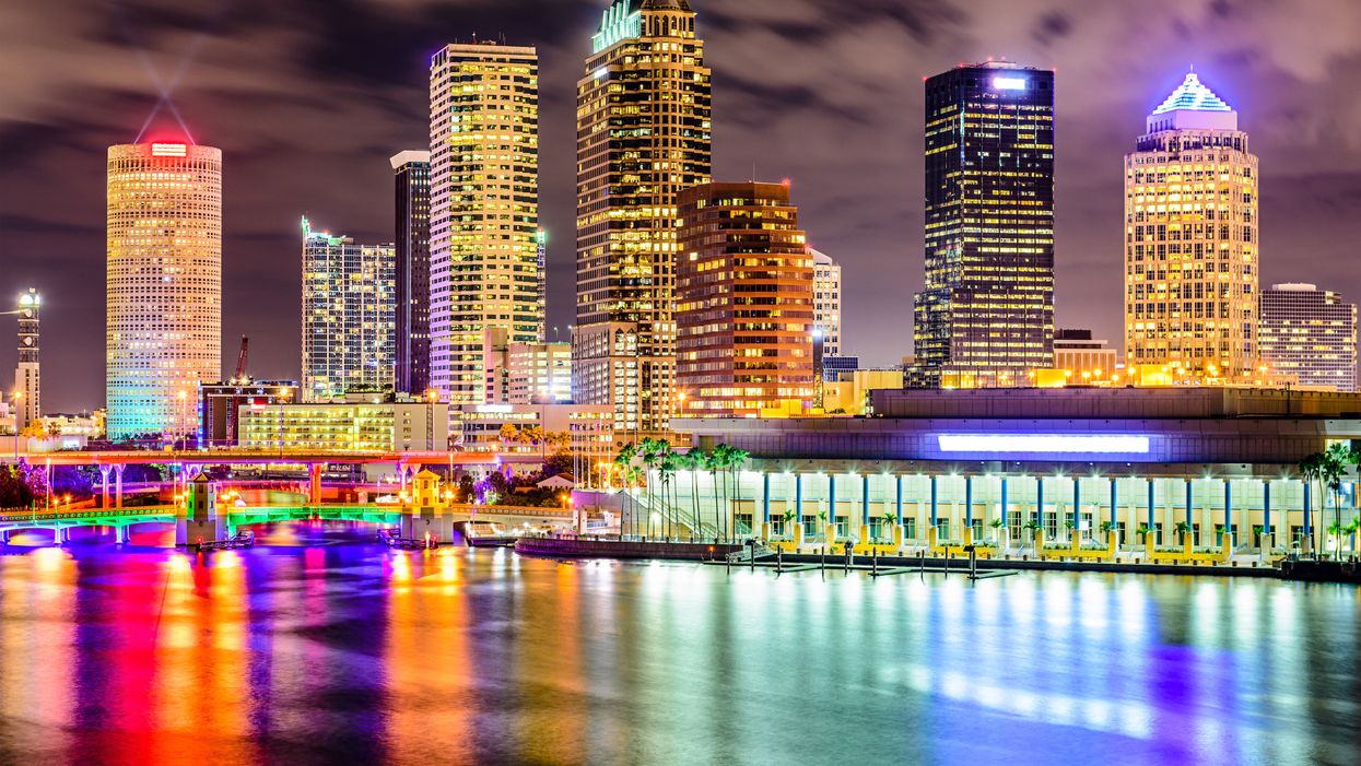 Tampa Is Turning Every Shade Of Rainbow For Pride Month (PHOTOS)