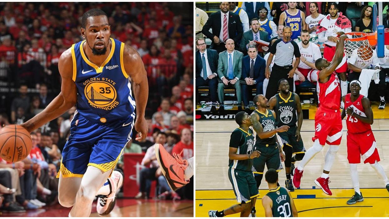 Kevin Durant Could Make His Comeback Against The Raptors Tonight & Fans Are Still Confident