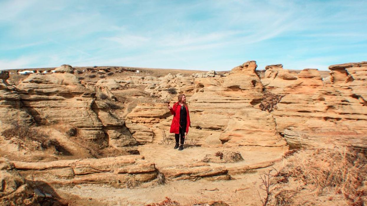 This 4.4 Km Hike In Alberta Will Make You Feel Like You're On Mars