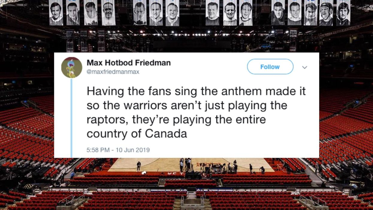 Canadians Are Obsessed With The National Anthem Performance At The Toronto Raptors Game Tonight (VIDEO)