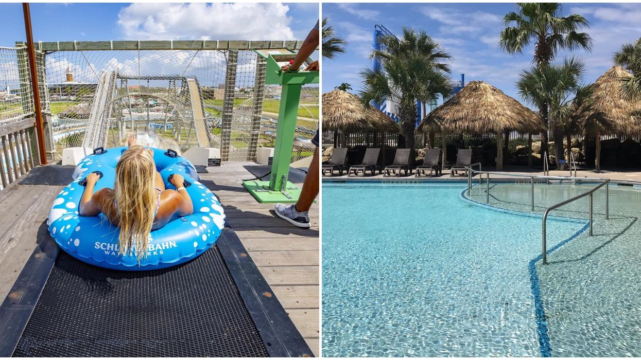 This Texas Beachfront Waterpark Hotel Is The Perfect Spot To Relax This Summer