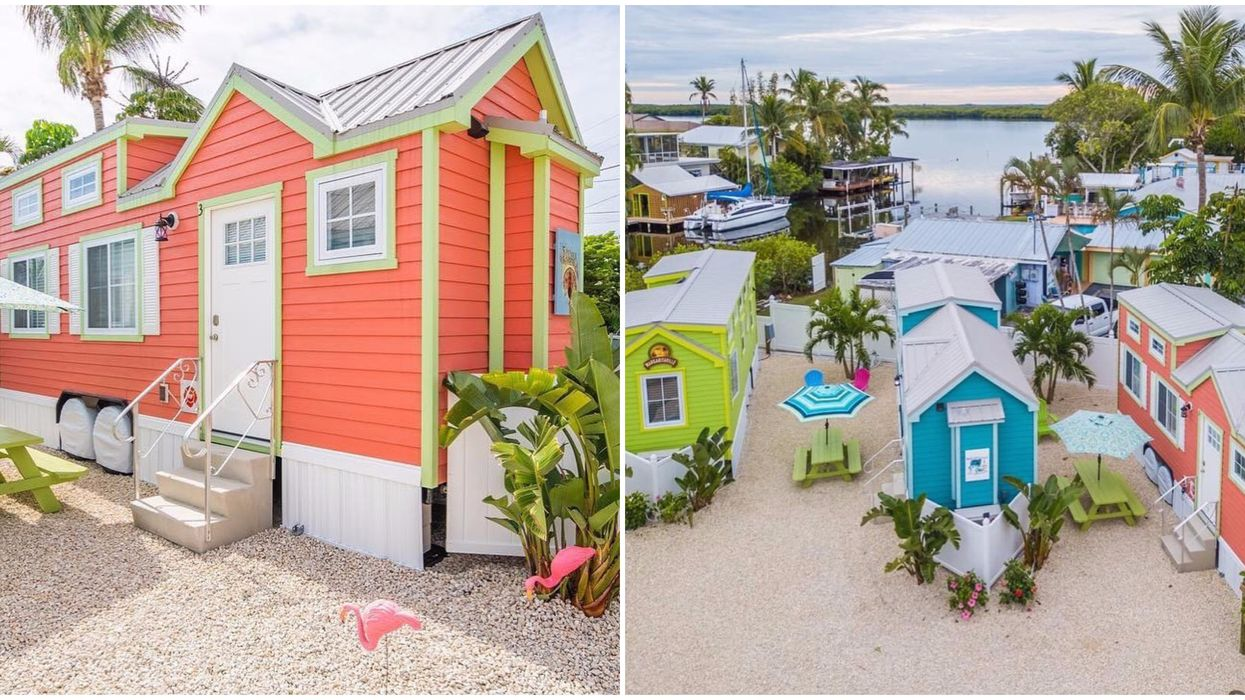 There Is An Entire Tiny Home Village In Florida And You Can Stay In One For Super Cheap