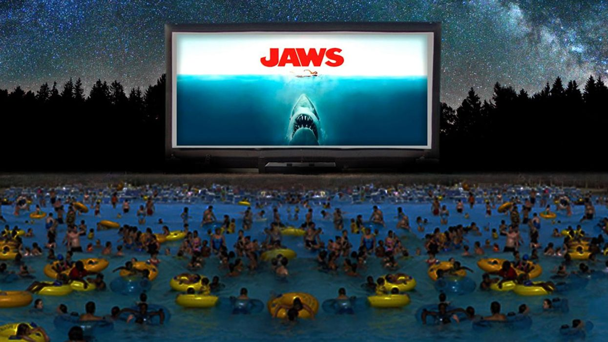 You Can Watch Jaws While Floating In The Water Near Toronto This Summer