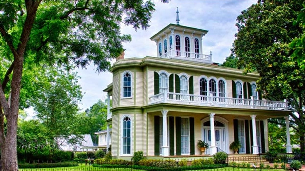 You Can Stay The Night In This Actual 1800s Victorian Mansion In North Texas