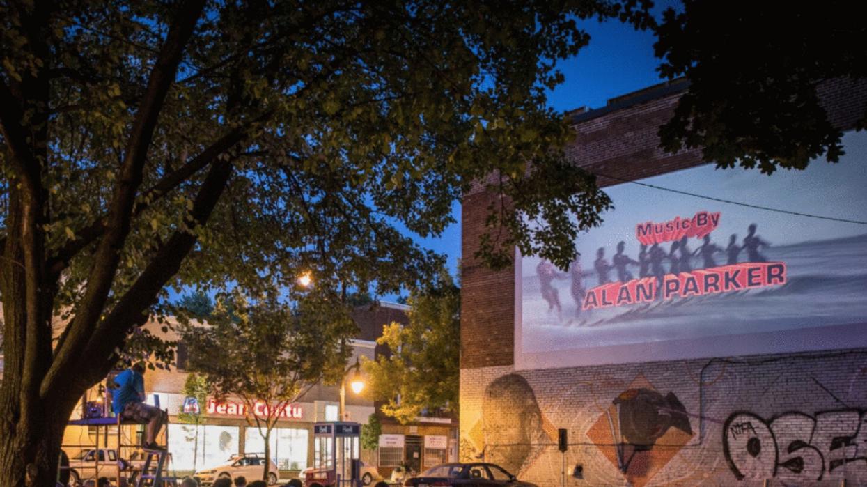 Ce cinéma extérieur GRATUIT débarque à Montréal cet été et la programmation est folle