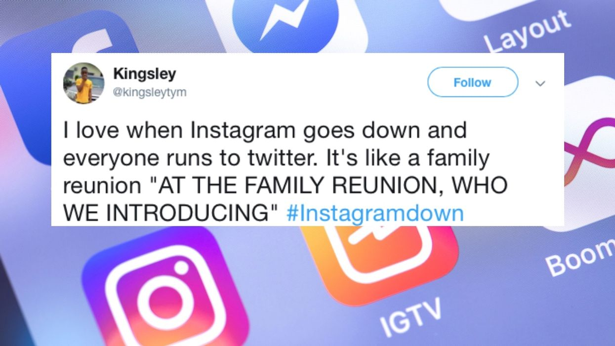Instagram Was Down & The Twitter Reactions Are Hilarious
