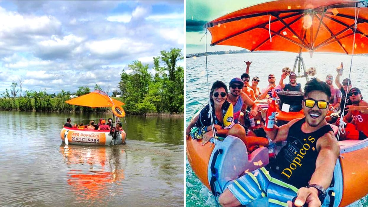 You Can Rent 'Donut Party Boats' Near Montreal This Summer