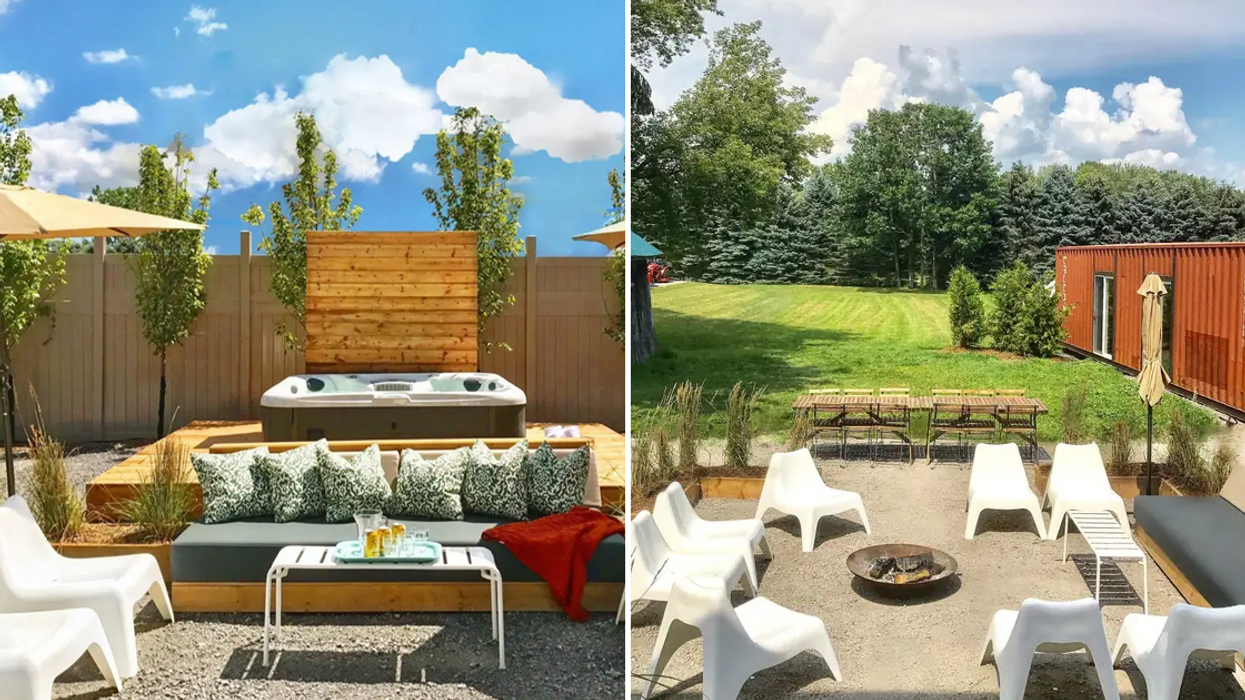 Party With Your Friends In A Private Boxcar At This Extraordinary Ontario Airbnb