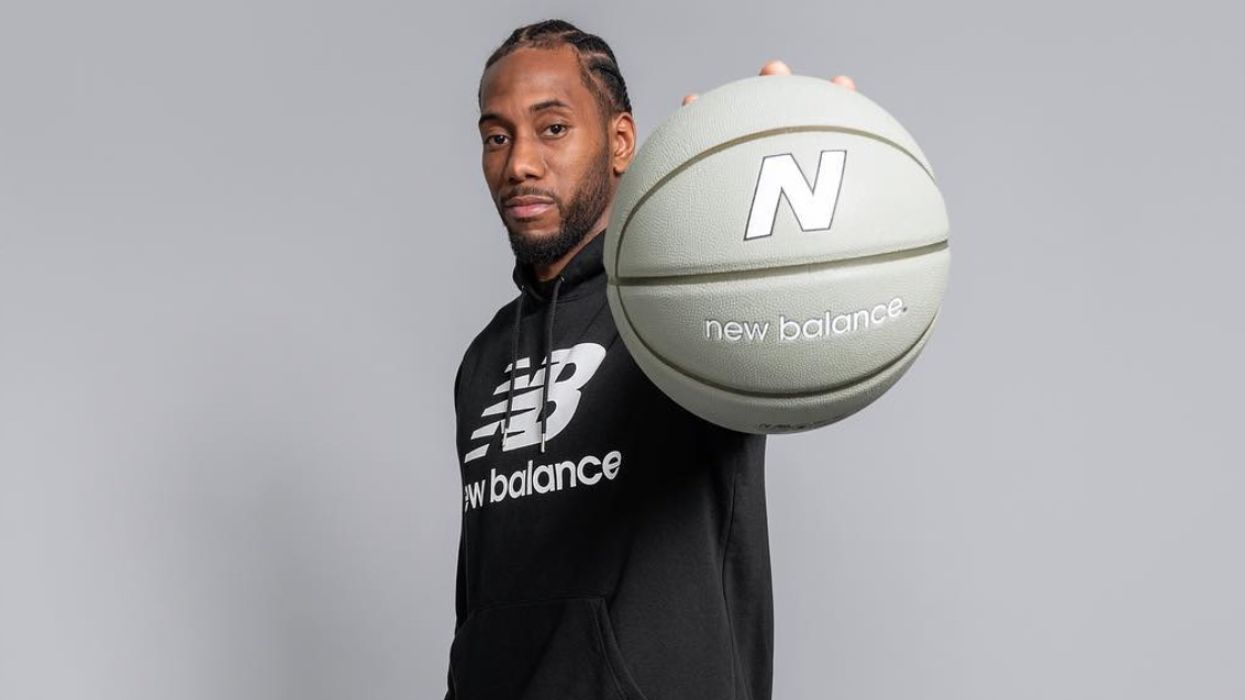 Kawhi Leonard's New Balance Shirts Are Already Sold Out Even Though They Were Just Released In Canada (PHOTOS)