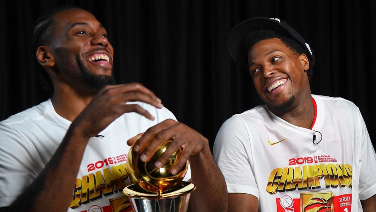 The Raptors Got So Emotional In The Locker Room After Their Championship Win (VIDEOS)
