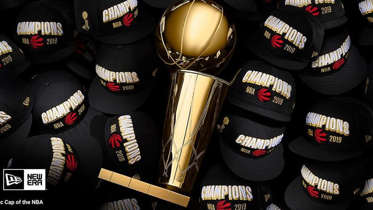 Stores Are Already Selling Out Of Their Raptors NBA Champions Gear In Canada