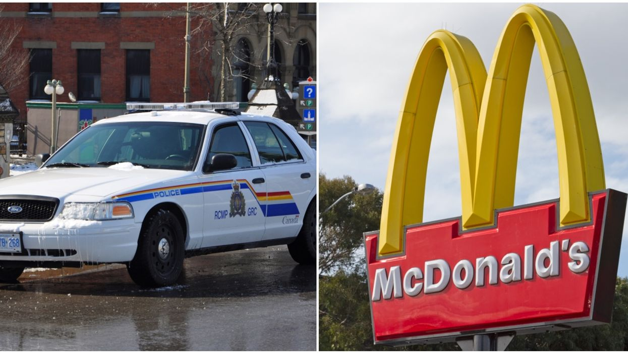 22-Year-Old Man Tasered & Tackled By Police Outside McDonalds In Canada For Stabbing Someone (VIDEO)