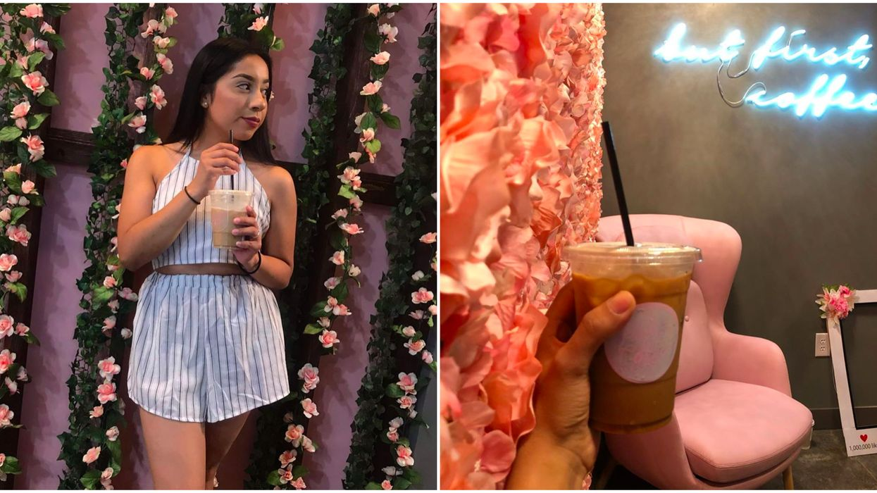 Garland Just Got A Brand New Coffee Shop And Cafe With The Cutest Decor Ever