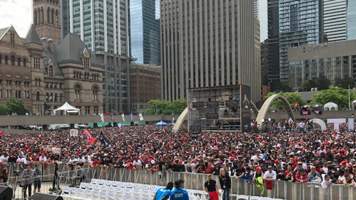 """Police Issued Evacuation Orders Near The Raptors Parade After """"Suspicious Packages"""" Were Found"""