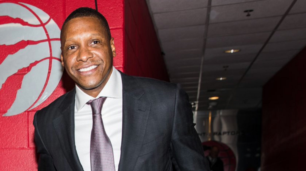 That Cop Who Got Pushed By Masai Ujiri Now Claims That He Got A Concussion From It