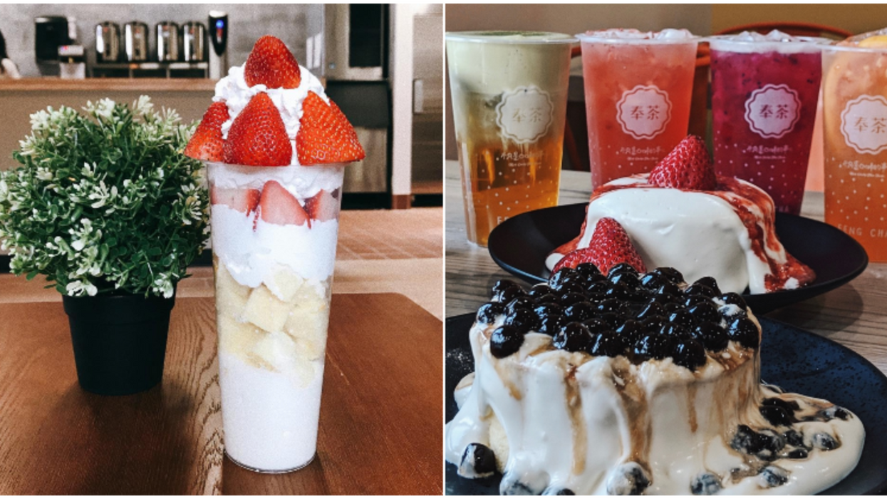 A New Teahouse Just Opened In Sugar Land And It's A Cake And Boba Paradise