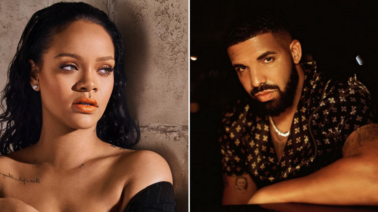 Fans Are Shocked After Drake Posted A Photo Revealing A Tattoo Of His Ex Rihanna