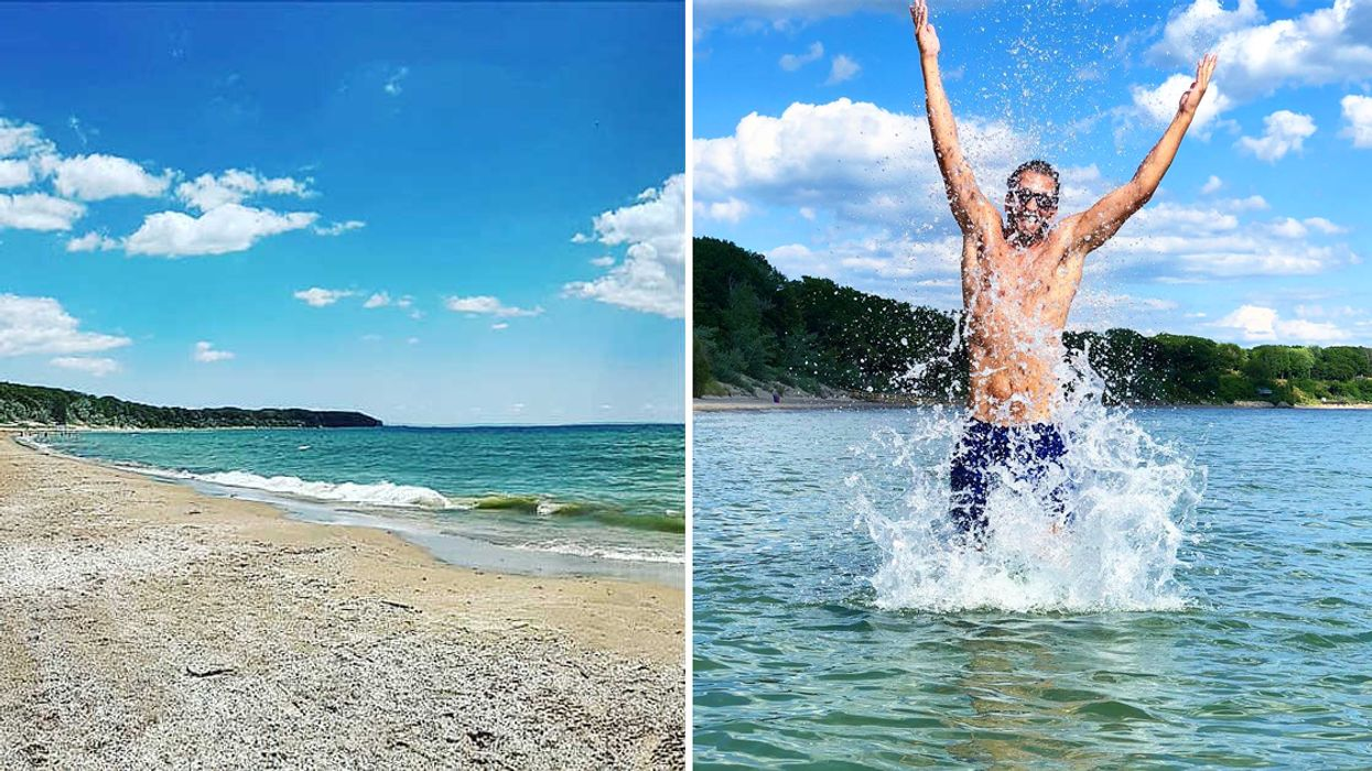 This 2 Km White Sand Beach In Ontario Will Make You Feel Like You're In Florida