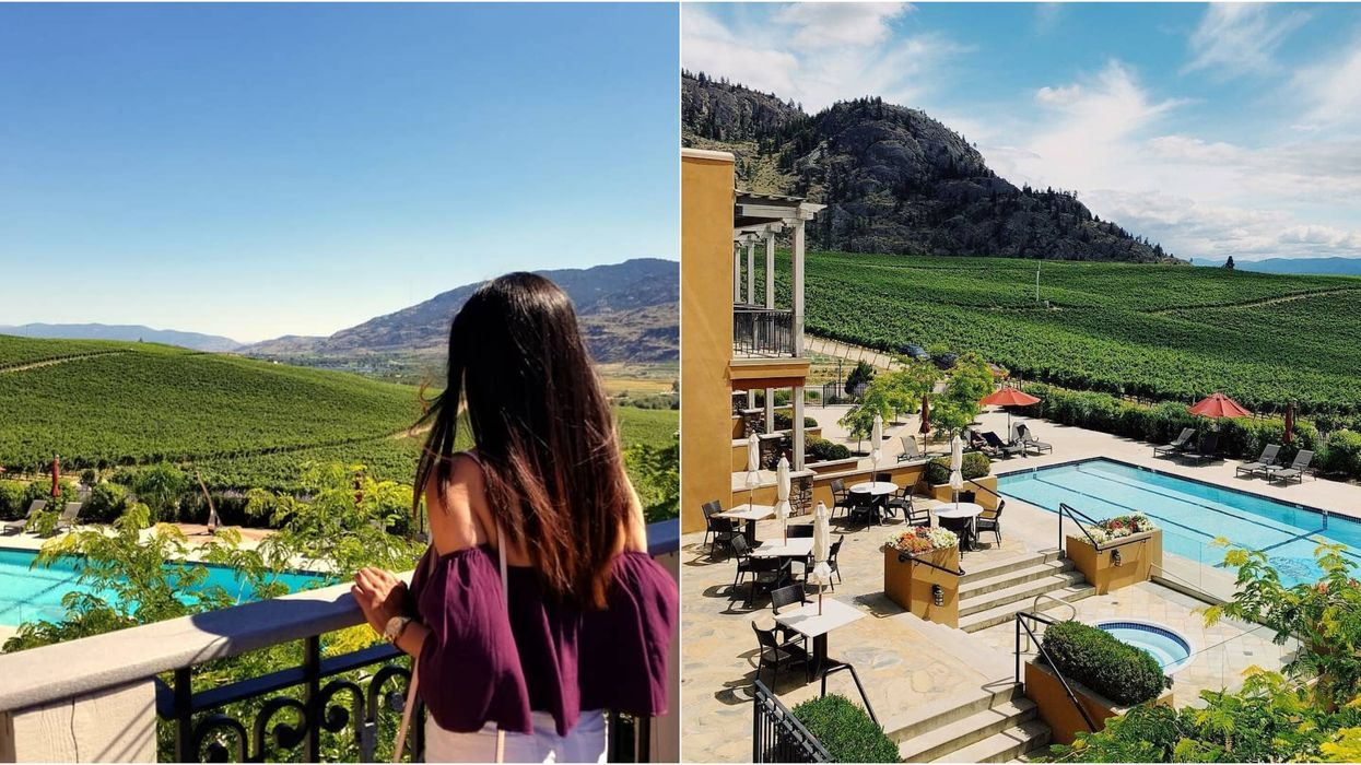 Staying At This Villa And Winery In BC Will Make You Feel Like You're In Italy