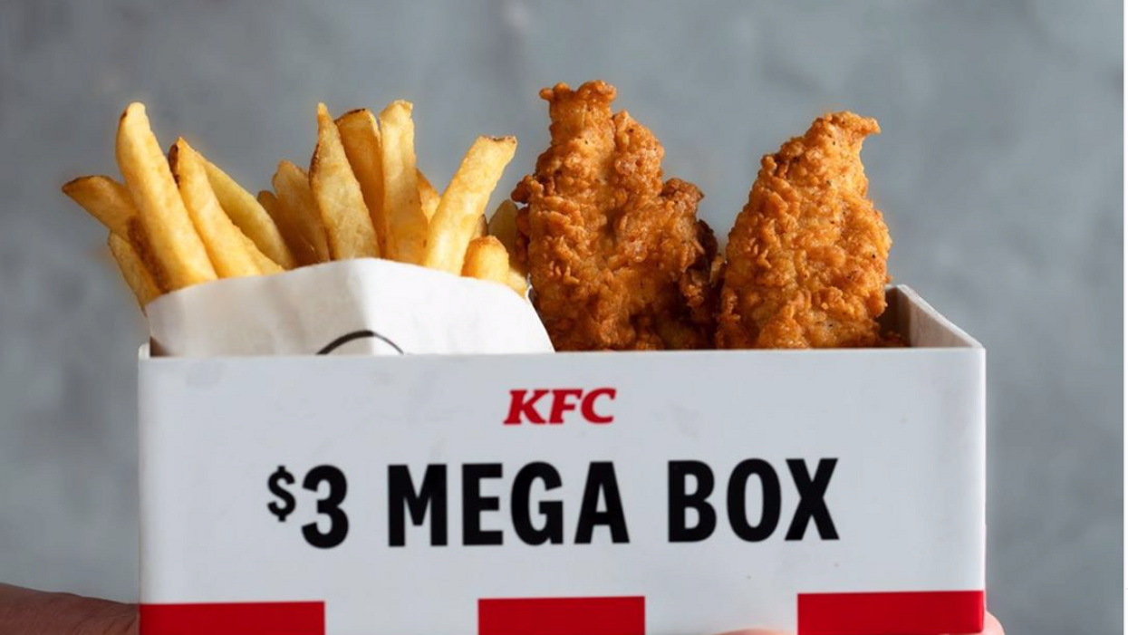 KFC Canada Has Launched A New Limited Edition 'Mega Box' And It's Only $3