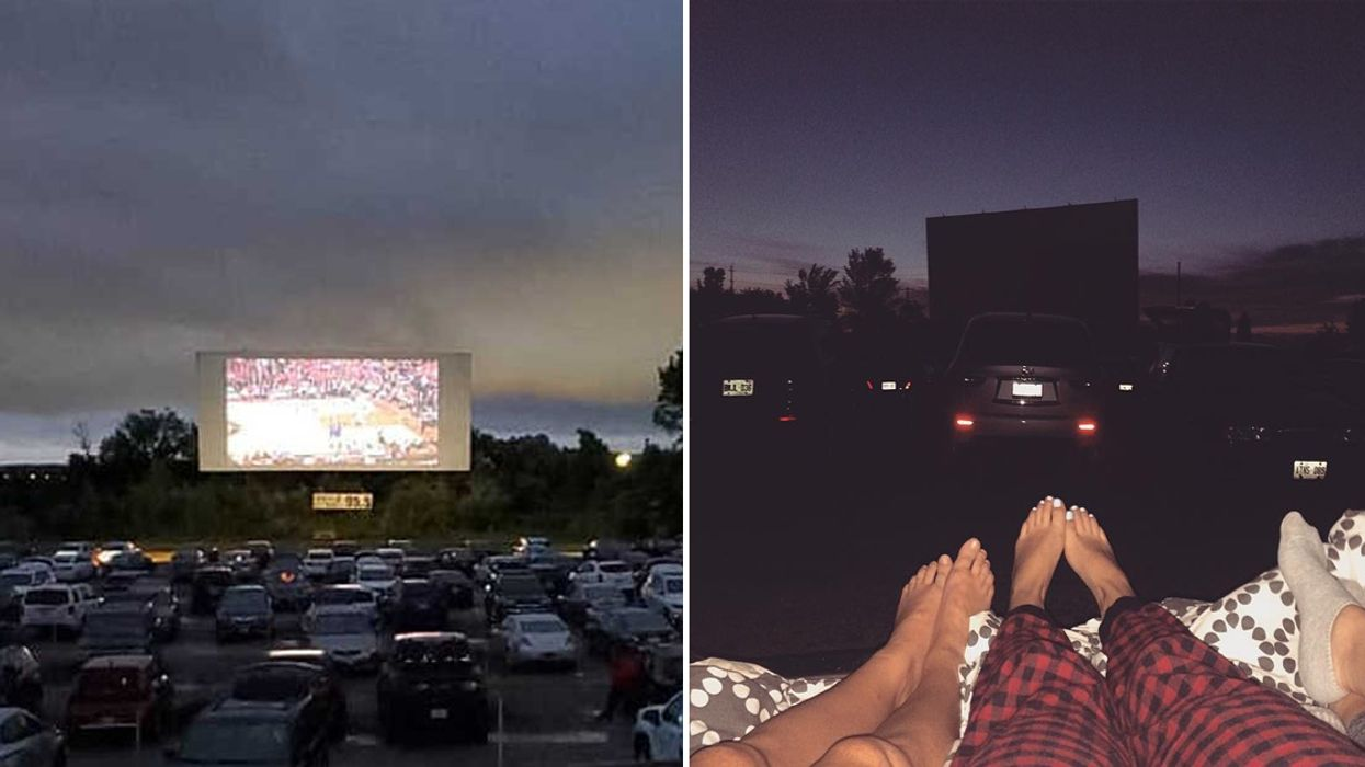 This Drive-In Theatre Near Toronto Is Showing Blockbuster Movies All Summer