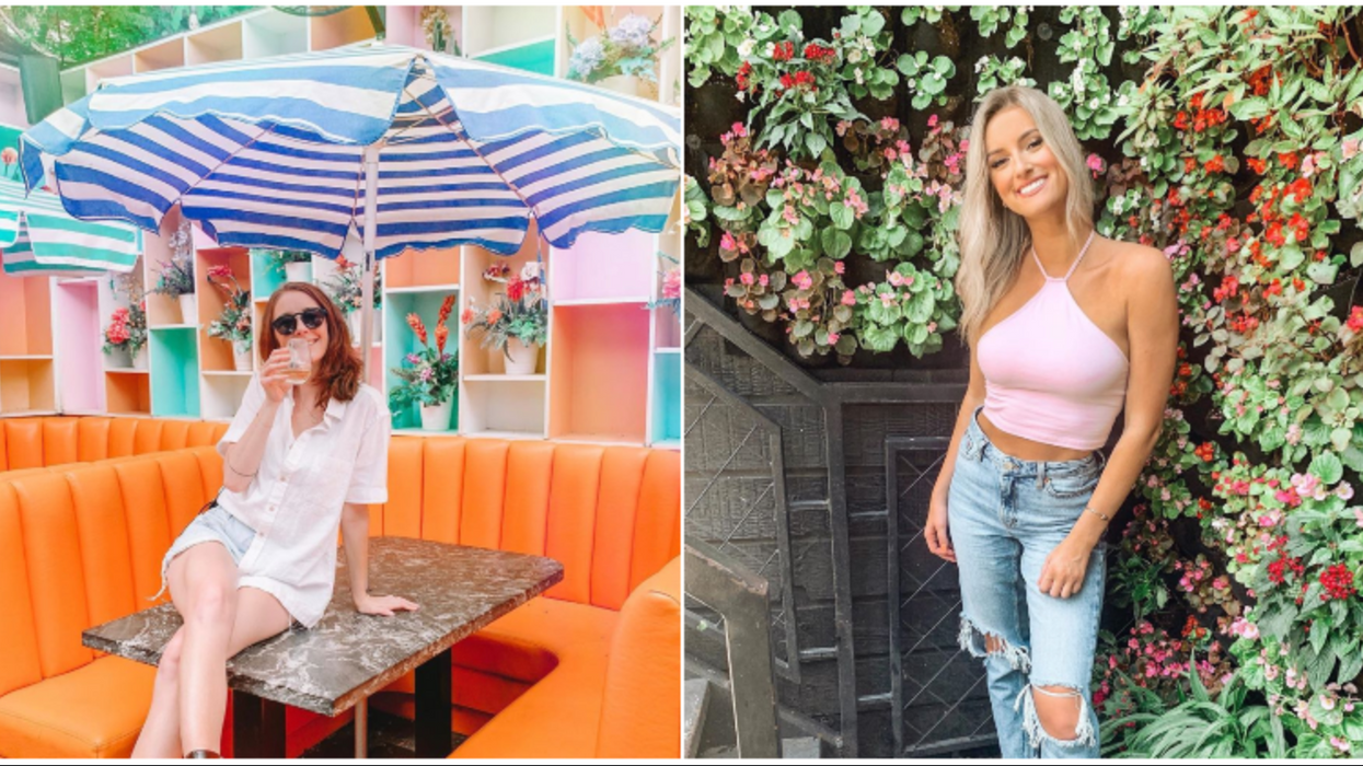 This Colorful 2-Story Outdoor Bar In Houston Is The Perfect Summer Hang Out Spot