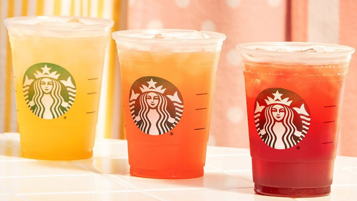 Starbucks Canada Releases All-New Lineup Of Fruity Iced Teas For Summer (PHOTOS)