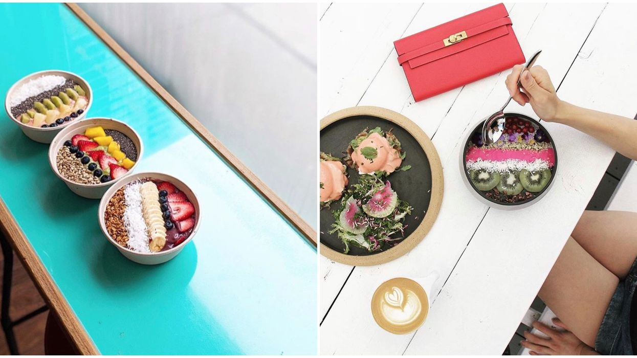 These 6 Toronto Spots Serve Smoothie Bowls That Are Almost Too Pretty To Eat